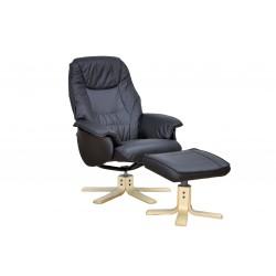 2 lænestole og 1 skammel